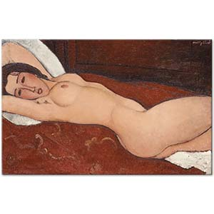 Amedeo Modigliani Reclining Nude 02 Art Print