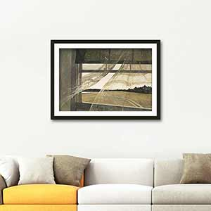 Andrew Wyeth Wind from the Sea Art Print