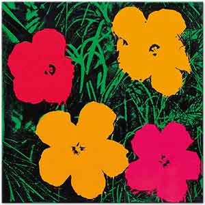 Andy Warhol Flowers Art Print