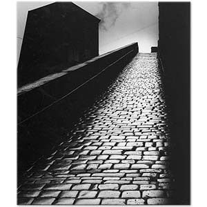 Bill Brandt A Snicket in Halifax Art Print