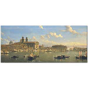 David Roberts The Giudecca Venice Art Print