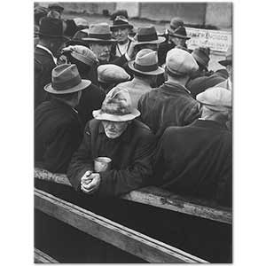 Dorothea Lange White Angel Bread Line San Francisco Art Print