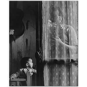 Edouard Boubat Mother and Child Art Print