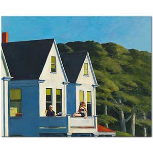 Edward Hopper Second Story Sunlight Art Print