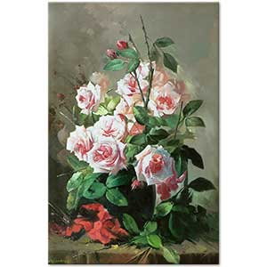 Elci Erdiren A Bouquet of Rose Art Print