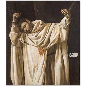 Francisco De Zurbaran The Martyrdom of Saint Serapion Art Print