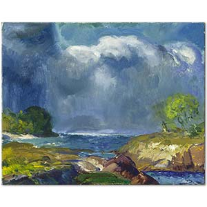 George Wesley Bellows The Coming Storm Art Print