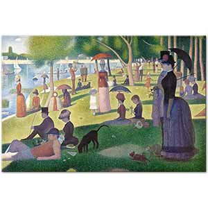 Georges Seurat A Sunday Afternoon on the Island of La Grande Jatte Art Print
