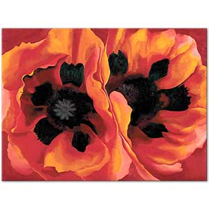 Georgia OKeeffe Oriental Poppies Art Print