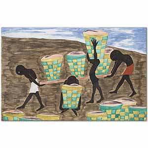 Jacob Lawrence Child Labor and a Lack of Education Art Print