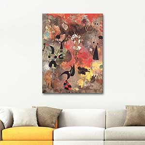 Joan Miro Painting No 3 Art Print