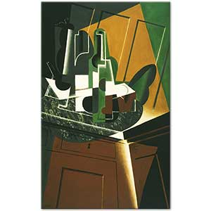 Juan Gris The Sideboard Art Print