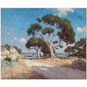 Julian Onderdonk On The Old Blanco Road Art Print
