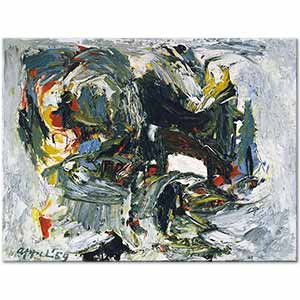Karel Appel Tragic Space Art Print