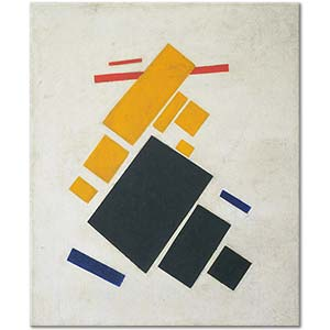 Kazimir Malevich Suprematist Composition Airplane Flying Art Print