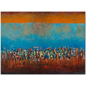 Norman Lewis March on Washington Art Print