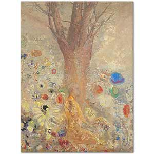 Odilon Redon The Buddha Art Print