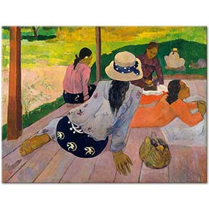 Paul Gauguin The Siesta Art Print