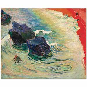 Paul Gauguin The Wave Art Print