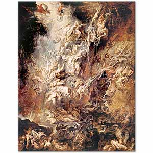 Peter Paul Rubens The Fall of The Damned Art Print