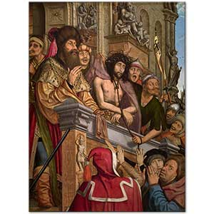 Quentin Massys Christ Presented to the People Art Print