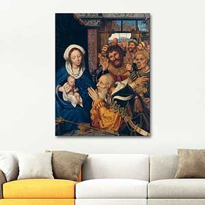 Quentin Massys The Adoration of the Magi Art Print