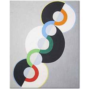 Robert Delaunay Endless Rhythm Art Print