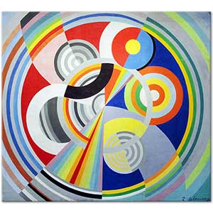 Robert Delaunay Rhythm No 1 Art Print