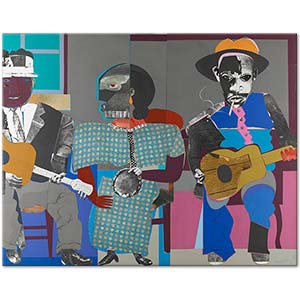 Romare Bearden Soul Three Art Print