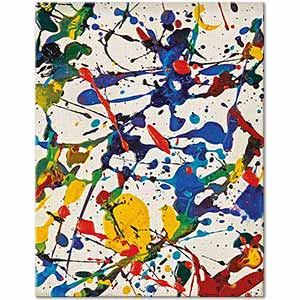 Sam Francis Untitled Painting Art Print