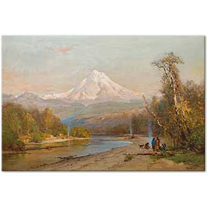 Thomas Hill Indians of the Northwest Art Print