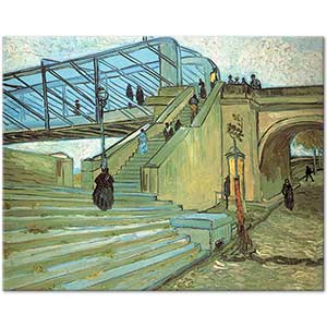 Vincent van Gogh Trinquetaille Bridge Art Print